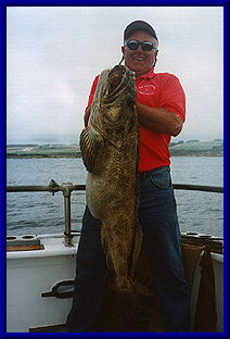 45# Jackpot Ling Cod Mike Castentini of South an Francisco
