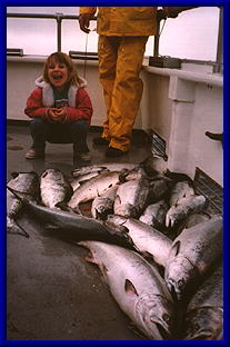 Our daughter, a born fisherperson!!!