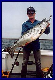 Queen of Hearts, Sportfishing, Salmon Fishing, Pillar Point